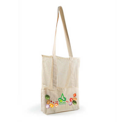 Scoot Calico  Mesh Tote Bag - (printed with 1 colour(s)) LL528_LLPRINT