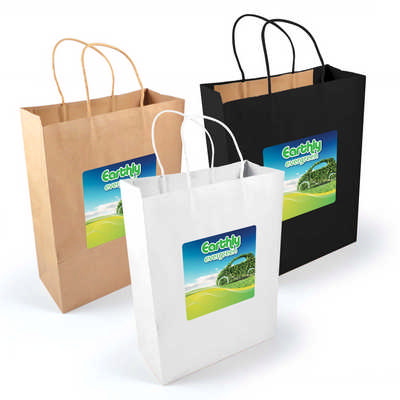 Express Paper Bag - (printed with 1 colour(s))