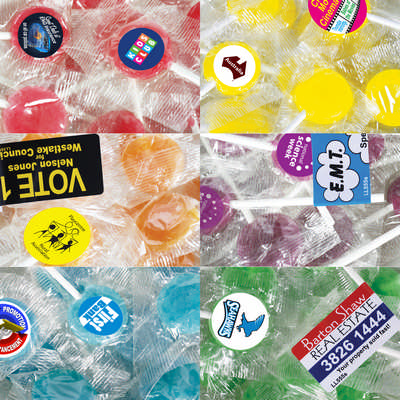 Printed Lollies