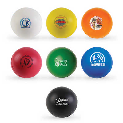 Round Stress Balls - (printed with 1 colour(s)) LL600_LLPRINT