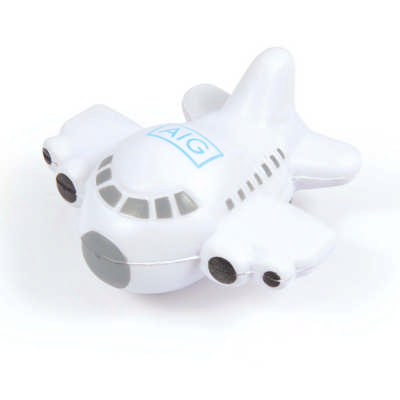 Plane Stress Reliever - (printed with 1 colour(s)) LL747_LLPRINT