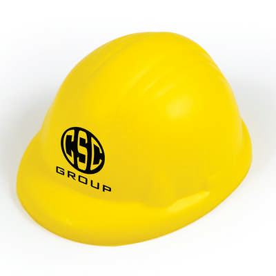 Hard Hat Stress Reliever - (printed with 1 colour(s)) LL773_LLPRINT