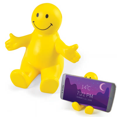 Smiley Phone Chair Stress Reliever - (printed with 1 colour(s)) LL7948_LLPRINT