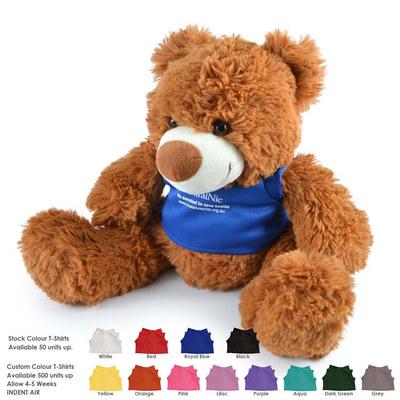 Coconut (White) and Coco (Brown) Plush Teddy Bear (LL88120_LLPRINT)