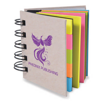 Codex Spiral Sticky Notes - (printed with 1 colour(s)) LL8829_LLPRINT