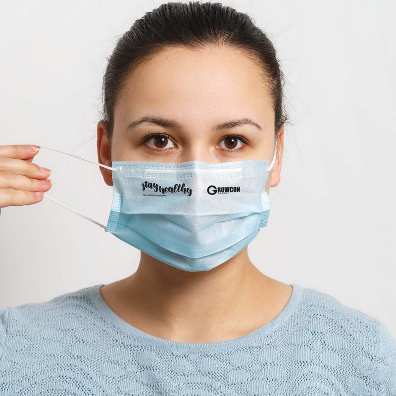 Disposable 3 Ply Face Mask  (LL8888_LLPRINT)