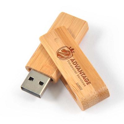 Bamboo USB Flash Drive (LL9602_LLPRINT)