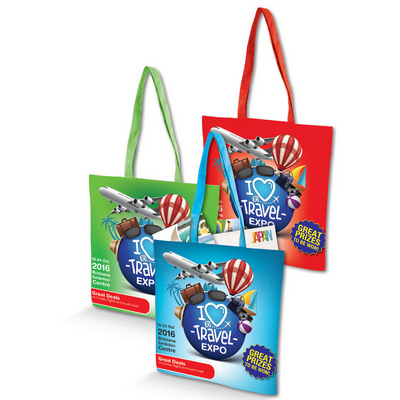 Cotton Tote Bag with Full Colour Design - (printed with 1 colour(s)) LN535_LLPRINT
