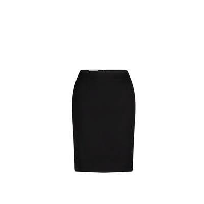 Short Line Skirt Micro Fibre Black Black 3005-MF-BLK_LSJ
