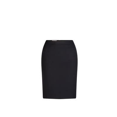 Short Line Skirt Micro Fibre Navy Navy 3005-MF-NVY_LSJ