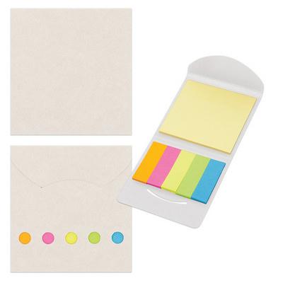 Sticky Note/Flag Set - White