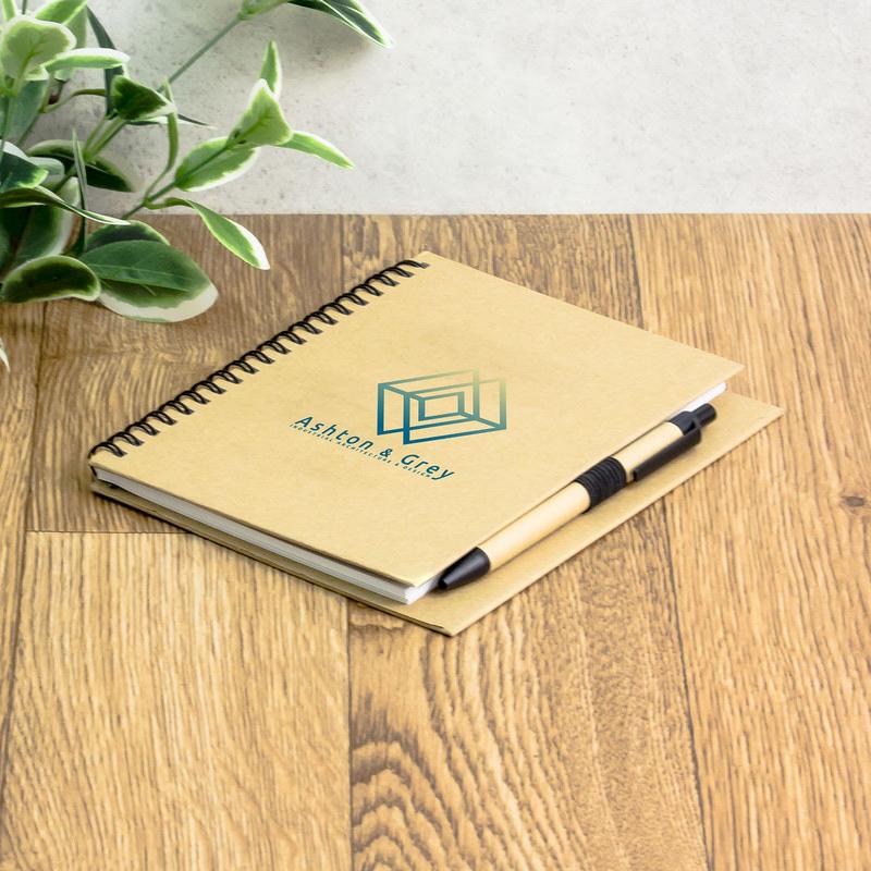 Eco Kraft Notebook Combo
