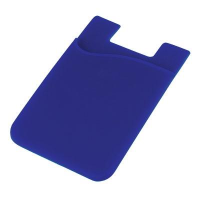 Silicone Phone Card Holder - Reflex Blue