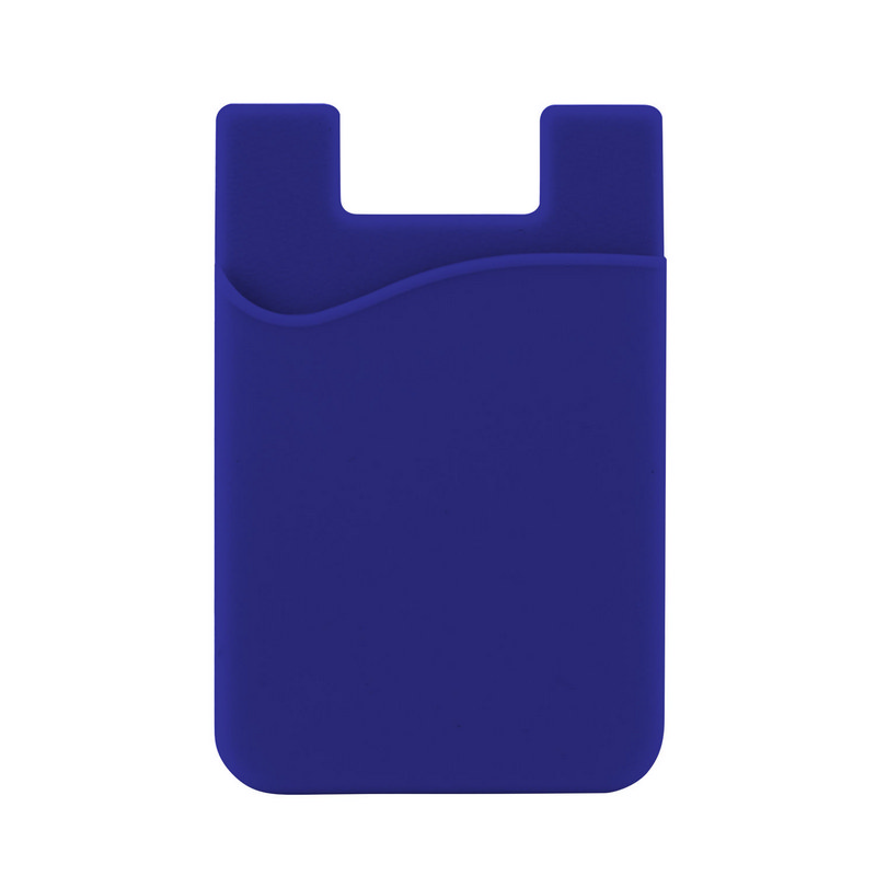 Silicone Phone Card Holder - Reflex Blue