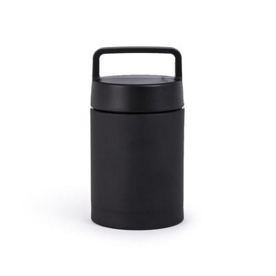 Foodie Lunch Flask - Black