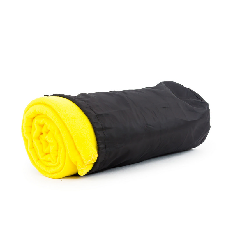 Blanket In Pouch - Yellow