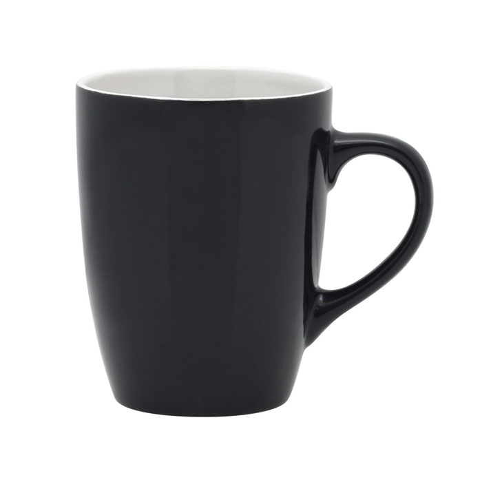 Bella Coffee Cup - Black/White