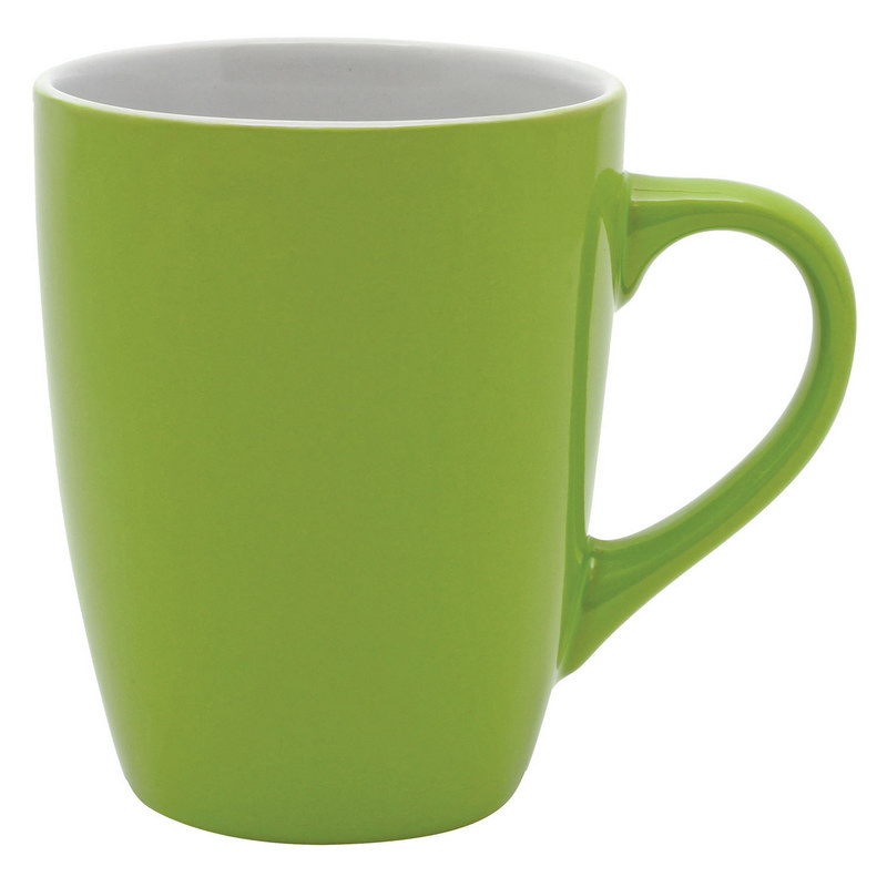 Bella Coffee Cup - LimeWhite