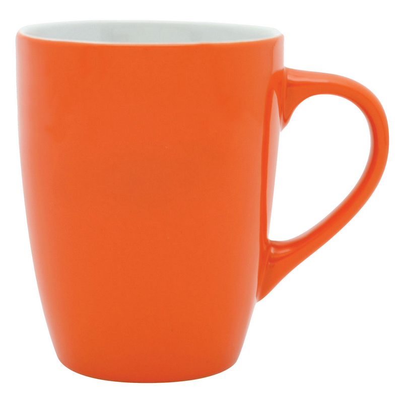 Bella Coffee Cup - OrangeWhite