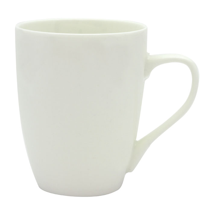 Bella Coffee Cup - White/White