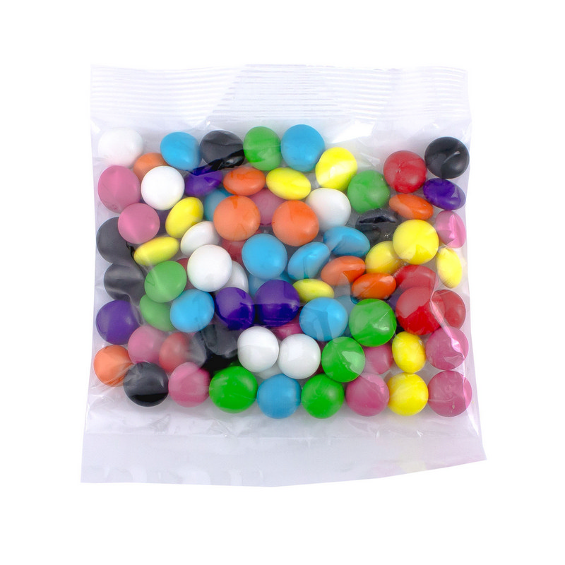 Confectionery 80gm Bag - Rainbow Buttons