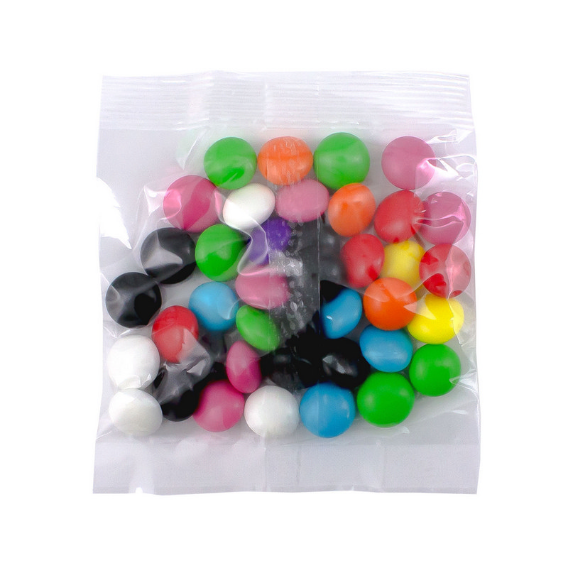 Confectionery 40gm Bag - Rainbow Buttons