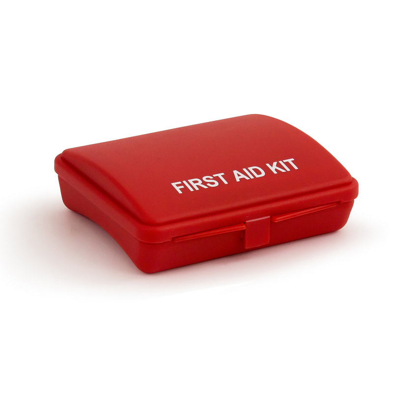 Promo First Aid Kit - Red