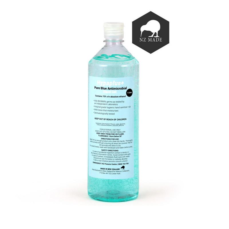 NZ Made Hand Sanitiser 1 litre