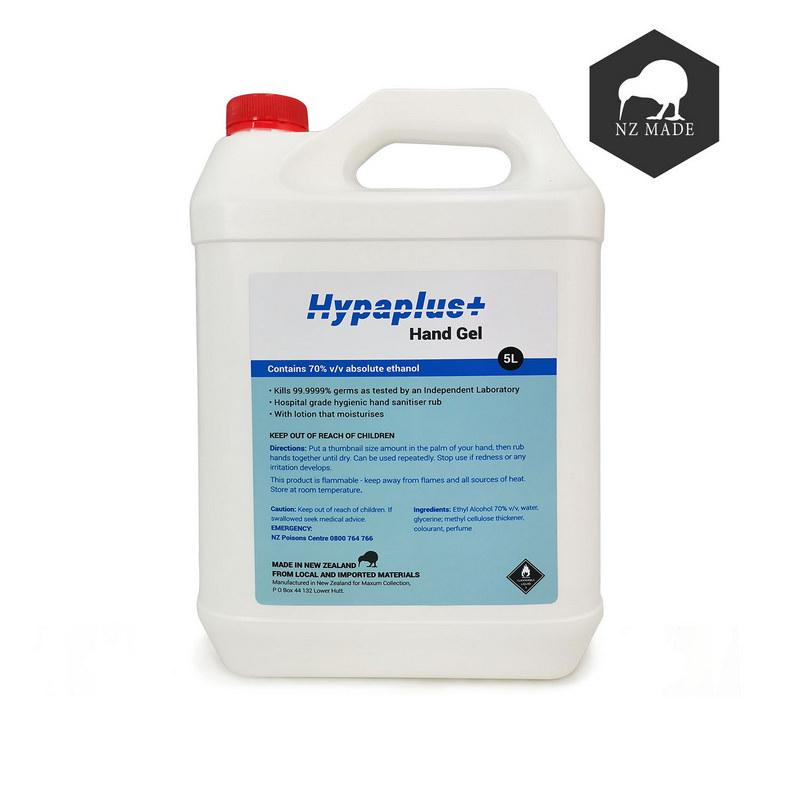 NZ Made Hand Sanitiser 5 litre