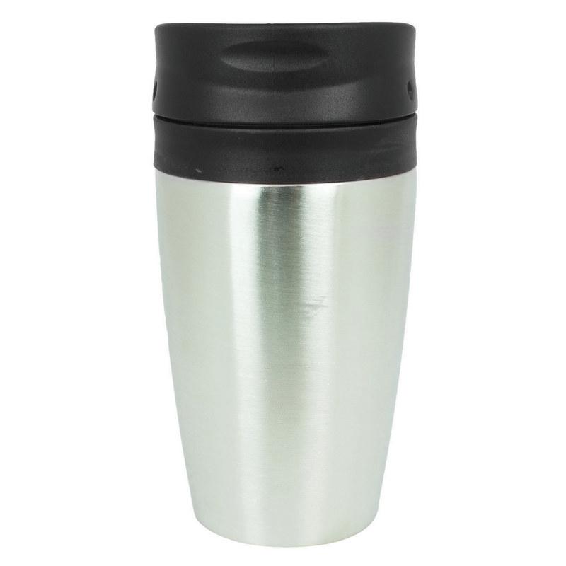 Vienna Thermo Mug - Black/Silver