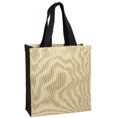 Jute Carry-All - Black