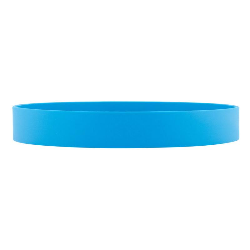 Silicone Wrist Band - Cyan