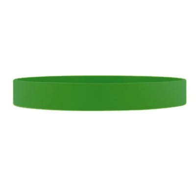 Silicone Wrist Band - Green