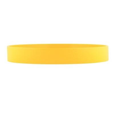 Silicone Wrist Band - Yellow