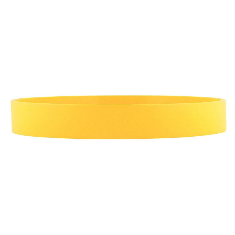 Silicone Wrist Band - Yellow
