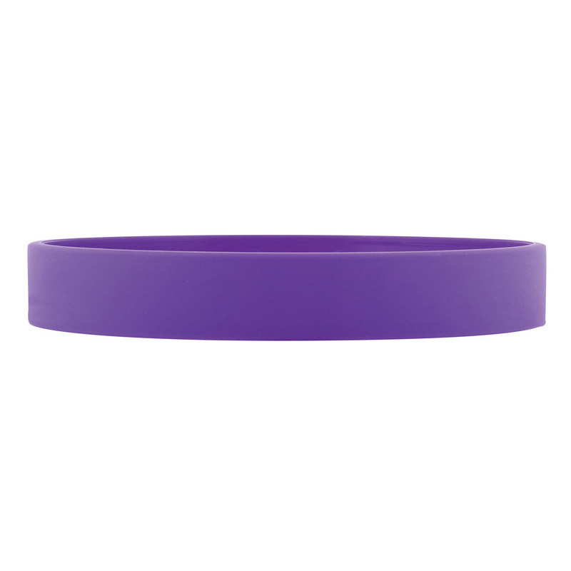 Silicone Wrist Band - Purple