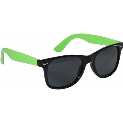 Retro Sunglasses - Lime