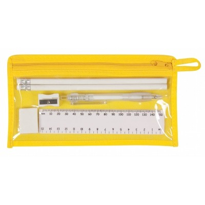 Delta Stationery Set - Yellow
