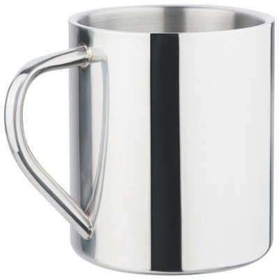 Polished Stainless Steel Mug