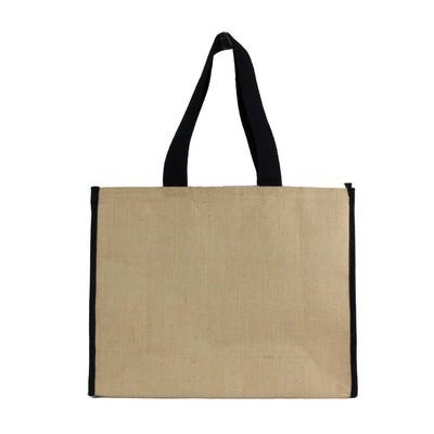 Laminated Jute Cooler bag