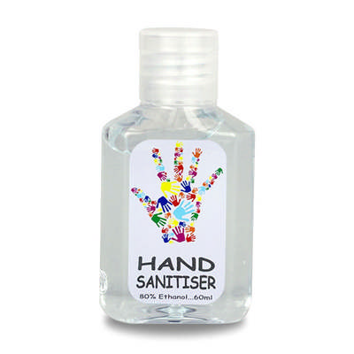 Hand Sanitiser 80% Ethanol 60ml