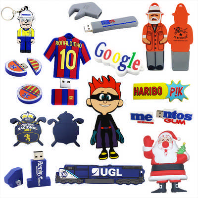 2D Custom Shape USB Flash Drive