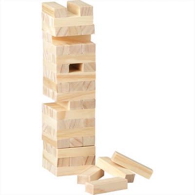 Tumbling Tower Wood Block Stacking Game (1357_RNG_DEC)