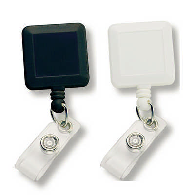 Square Retractable Badge Holder (199_RNG_DEC)