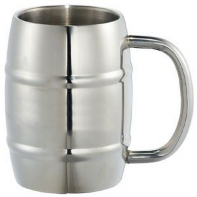 Growl Stainless Barrel Mug - (printed with 1 colour(s)) 4066_RNG_DEC