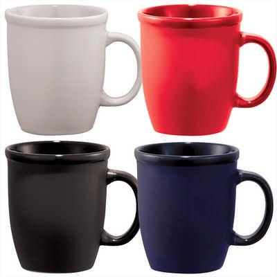 Cafe Au Lait Ceramic Mug - (printed with 1 colour(s)) 4079_RNG_DEC