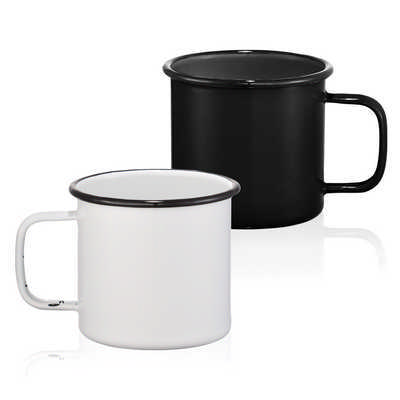 Enamel Metal Cup - (printed with 1 colour(s)) 4080_RNG_DEC