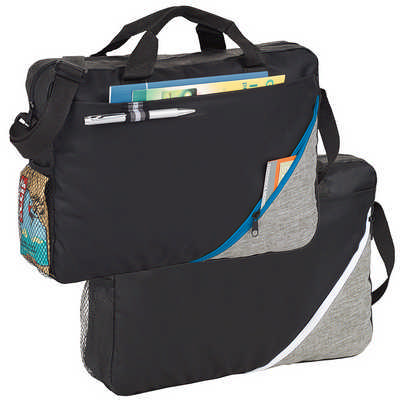 Corner Pocket Convention Briefcase - (printed with 1 colour(s))