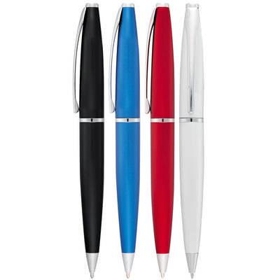 Grobisen Series Twist Action Pen - Silver (627_RNG_DEC)