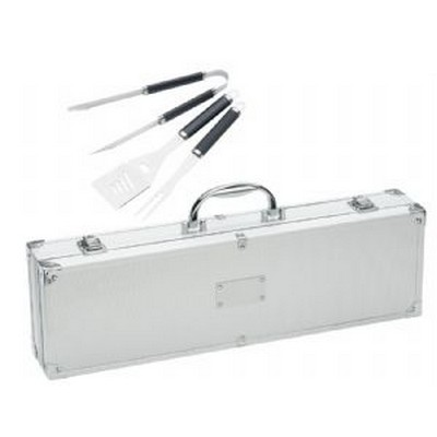 Stainless Steel BBQ Set Case 771SL_RNG_DEC